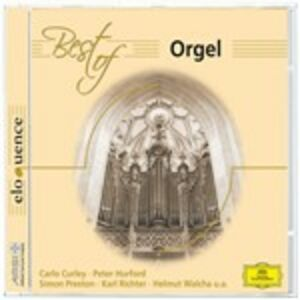 Foto Cover di Best of Orgel, CD di  prodotto da Deutsche Grammophon