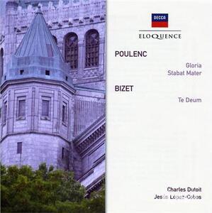 Stabat Mater - CD Audio di Francis Poulenc