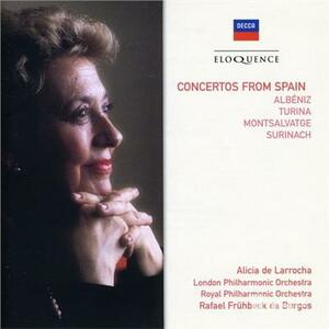 Concertos from Spain - CD Audio