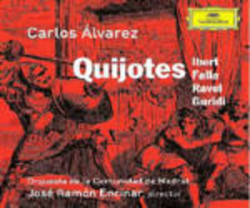 CD Quijotes Maurice Ravel , Manuel De Falla , Jacques Ibert , Jesus Guridi