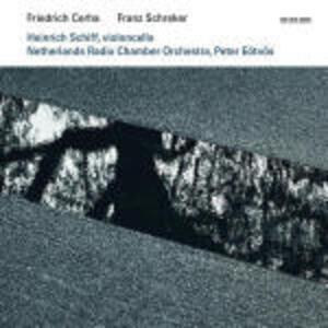 Concerti per violoncello - CD Audio di Franz Schreker,Friedrich Cerha,Heinrich Schiff,Peter Eötvös,Netherlands Radio Chamber Orchestra