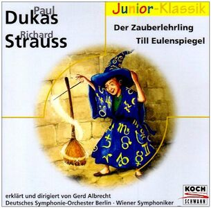 CD Zauberlehrling - Till Eulenspiegel Richard Strauss , Paul Dukas