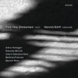 Sonate per violino e violoncello - CD Audio di Frank Peter Zimmermann,Heinrich Schiff
