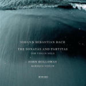 CD Sonate e Partite per violino solo di Johann Sebastian Bach