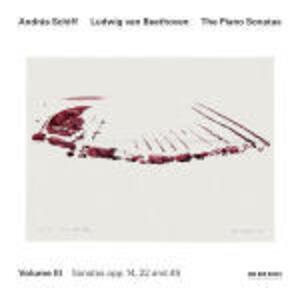 Sonate per pianoforte vol.3: op.14, op.22, op.49 - CD Audio di Ludwig van Beethoven,Andras Schiff