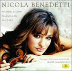 CD Concerto per Violino. Musica per Violino Wolfgang Amadeus Mozart , Felix Mendelssohn-Bartholdy , James MacMillan