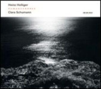 Foto Cover di Romancendres - Gesänge der Früe, CD di Heinz Holliger, prodotto da ECM Records