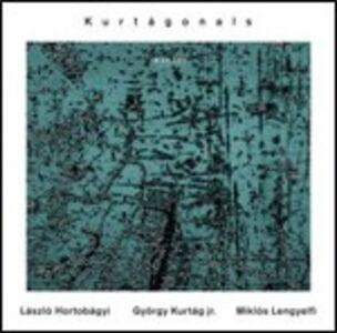 Foto Cover di Kurtágonals, CD di AA.VV prodotto da ECM Records