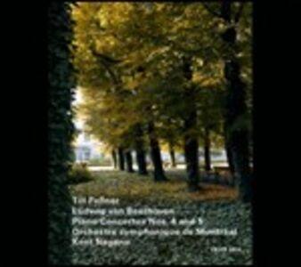 CD Concerti per pianoforte n.4, n.5 di Ludwig van Beethoven