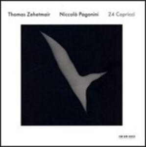 CD Capricci per violino solo di Niccolò Paganini