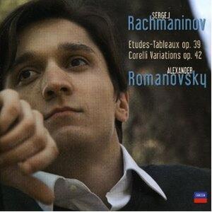 Studi op.33 - Variazioni - CD Audio di Sergej Vasilevich Rachmaninov,Alexander Romanovsky