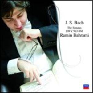CD Sonate BWV963, BWV964, BWV965, BWV966, BWV967, BWV968 di Johann Sebastian Bach