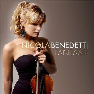 Foto Cover di Fantasie, CD di Nicola Benedetti, prodotto da Decca