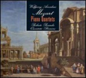 CD Quartetti con pianoforte di Wolfgang Amadeus Mozart