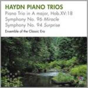 CD Trii con Pianoforte di Franz Joseph Haydn