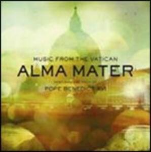 Alma Mater. Musica dal Vaticano - CD Audio + DVD di Papa Benedetto XVI
