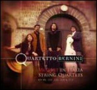 CD Quartetti K80, K155, K156, K168, K173 di Wolfgang Amadeus Mozart