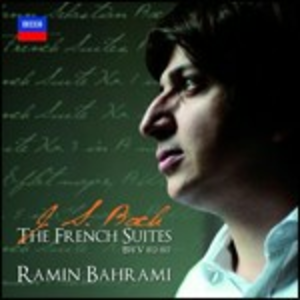 CD Suites francesi di Johann Sebastian Bach