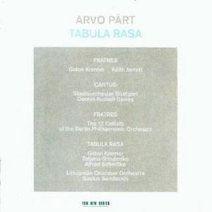 CD Tabula Rasa di Arvo Pärt