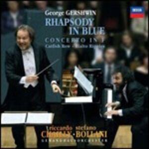 CD Rapsodia in blu - Concerto in Fa di George Gershwin