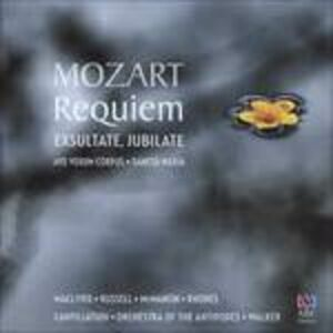 Foto Cover di Requiem - Ave Verum Corpus, CD di Wolfgang Amadeus Mozart, prodotto da ABC