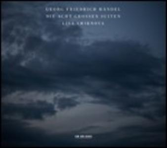 CD Die Acht Grossen Suiten di Georg Friedrich Händel