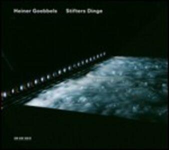 Foto Cover di Stifters Dinge, CD di Heiner Goebbels, prodotto da ECM Records