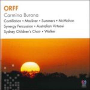 CD Carmina Burana - Cantiones di Carl Orff