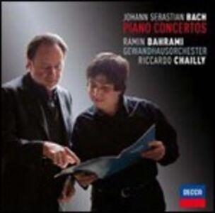 CD Concerti per pianoforte di Johann Sebastian Bach