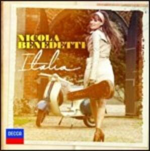 Italia - CD Audio di Scottish Chamber Orchestra,Nicola Benedetti,Christian Curnyn