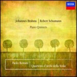 CD Quintetto con pianoforte op.34 / Quintetto con pianoforte op.44 Johannes Brahms , Robert Schumann