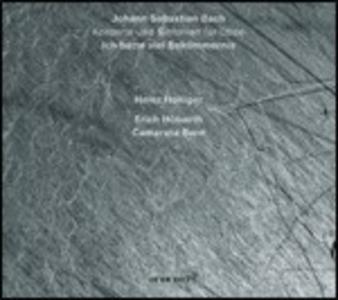 CD Ich Hatte Viel Bekümmernis / Concerto per oboe Johann Sebastian Bach , Benedetto Marcello