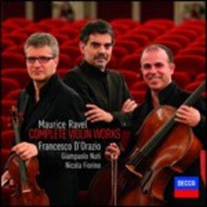 CD Musica per violino di Maurice Ravel