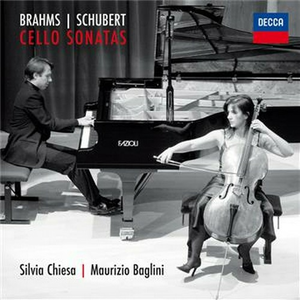 CD Sonate per violoncello Johannes Brahms , Franz Schubert