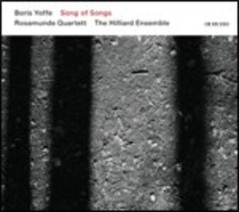 CD Song of Songs di Boris Yoffe