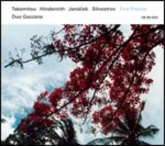 Five Pieces - CD Audio di Duo Gazzana