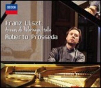 CD Anni di pellegrinaggio: Italia di Franz Liszt