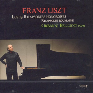 CD Les 19 Rhapsodies di Franz Liszt