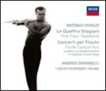 CD Le quattro stagioni - 4 Concerti per flauto di Antonio Vivaldi
