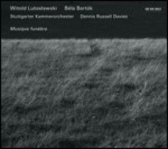 CD Musique funèbre di Witold Lutoslawski