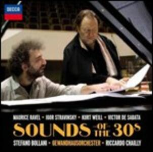 Sounds of the 30's - CD Audio di Stefano Bollani,Riccardo Chailly,Gewandhaus Orchester Lipsia