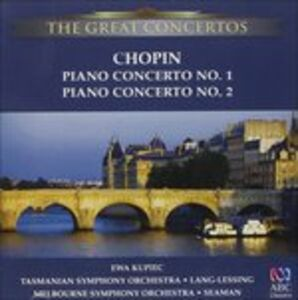 CD Concerti per Pianoforte No. 1 & 2 di Fryderyk Franciszek Chopin