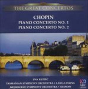 CD Concerti per Pianoforte No. 1 & 2 di Fryderyk Franciszek Chopin