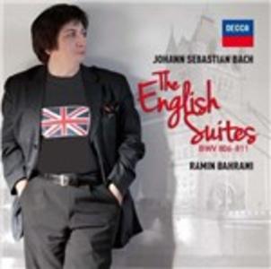 CD Suites inglesi di Johann Sebastian Bach