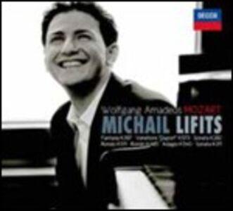 CD Sonate n.4, n.9 - Rondò K485, K511 - Adagio K540 - Fantasia K397 - 9 Variazioni K573 di Wolfgang Amadeus Mozart
