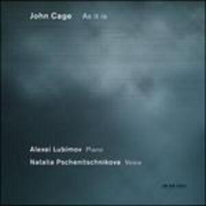 Foto Cover di As it is, CD di Alexei Lubimov,John Cage, prodotto da ECM Records
