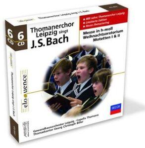 CD Thomanerchor Leipzig di Johann Sebastian Bach