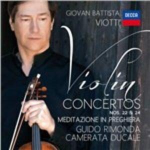 Foto Cover di Concerti per violino n.22, n.24, CD di Giovanni Battista Viotti,Guido Rimonda, prodotto da Universal Classic