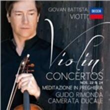 Concerti per violino n.22, n.24 - CD Audio di Giovanni Battista Viotti,Guido Rimonda