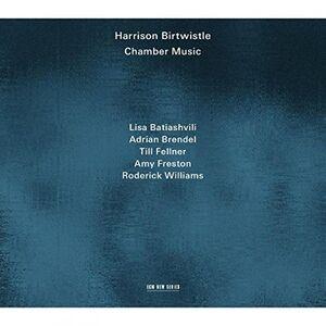 Foto Cover di Musica da camera, CD di Harrison Birtwistle, prodotto da ECM Records